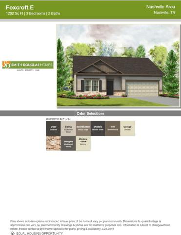 606 Tines Drive Lot 86, Shelbyville, TN 37160 (MLS #2008966) :: CityLiving Group