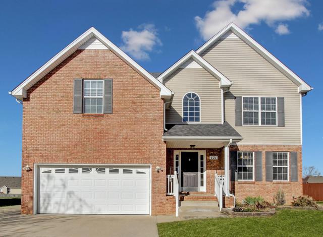 421 Winding Bluff Way, Clarksville, TN 37040 (MLS #1870063) :: Berkshire Hathaway HomeServices Woodmont Realty