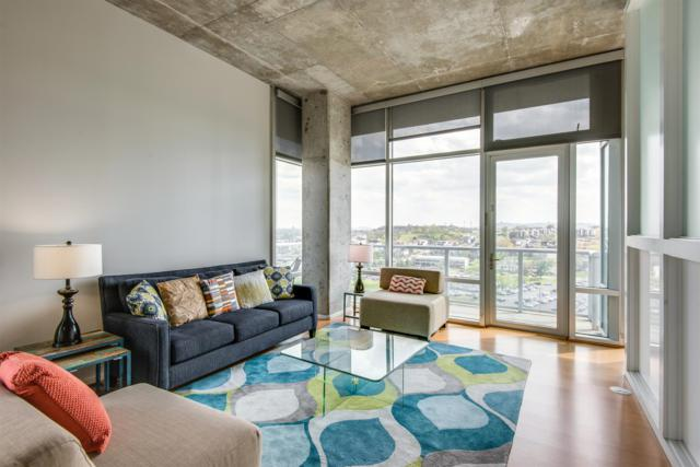 700 12Th Ave S Unit 1206, Nashville, TN 37203 (MLS #1852810) :: NashvilleOnTheMove | Benchmark Realty