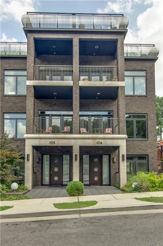 2905 Parthenon Ave Apt 105 #105, Nashville, TN 37203 (MLS #1816983) :: KW Armstrong Real Estate Group