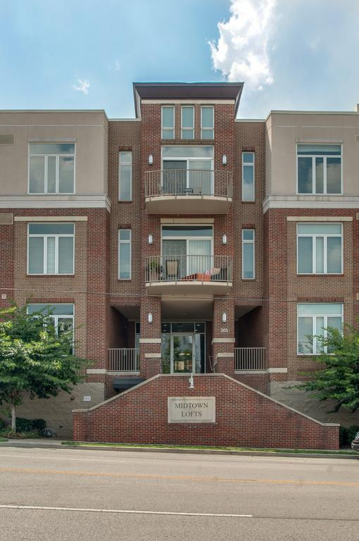 205 31St Ave N Apt 312 #312, Nashville, TN 37203 (MLS #1852579) :: NashvilleOnTheMove | Benchmark Realty
