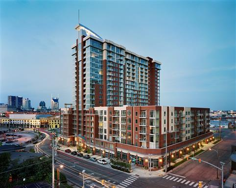 600 12Th Ave S Apt 431, Nashville, TN 37203 (MLS #1865632) :: The Lipman Group Sotheby's International Realty