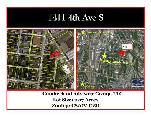 1411 4Th Ave S, Nashville, TN 37210 (MLS #1872498) :: CityLiving Group