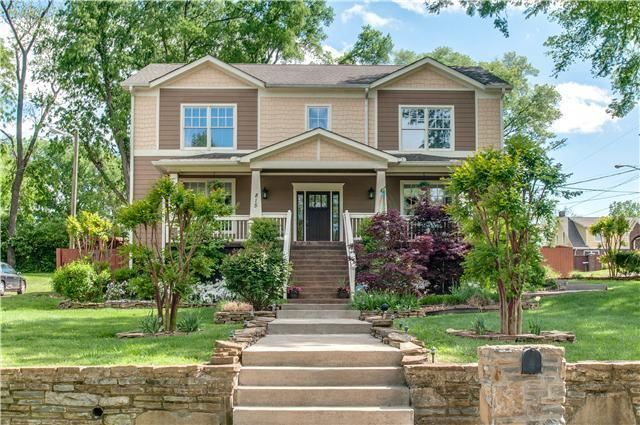 815 Halcyon Ave, Nashville, TN 37204 (MLS #1886825) :: The Kelton Group