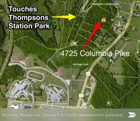 4725 Columbia Pike, Thompsons Station, TN 37179 (MLS #1888283) :: Felts Partners