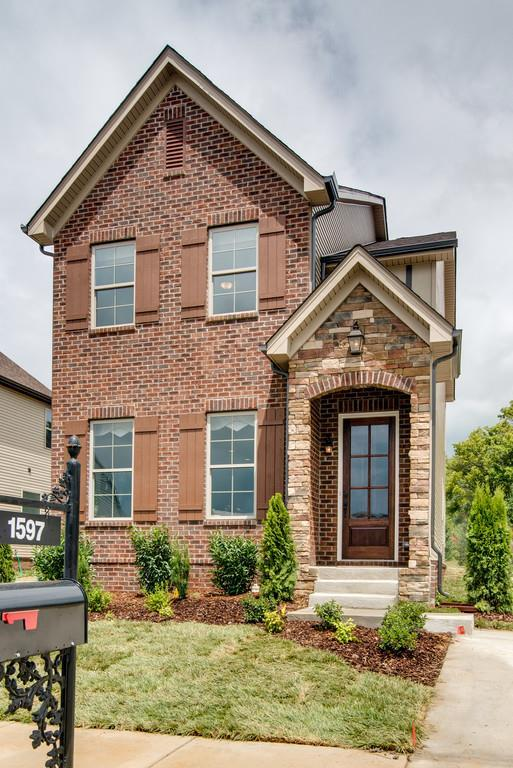 230 Cedar Place Row, Lot 15, Nashville, TN 37221 (MLS #1891507) :: KW Armstrong Real Estate Group
