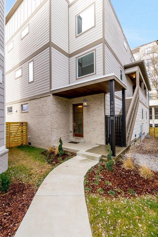 1208 B Sigler St, Nashville, TN 37203 (MLS #1895073) :: John Jones Real Estate LLC