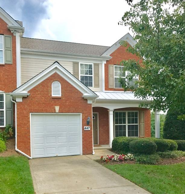 447 Old Towne Dr, Brentwood, TN 37027 (MLS #1901193) :: The Milam Group at Fridrich & Clark Realty