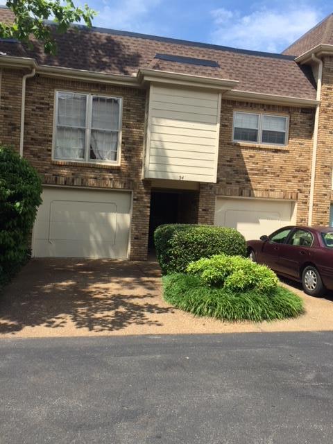 401 Bowling Ave Unit 34 #34, Nashville, TN 37205 (MLS #1934423) :: The Helton Real Estate Group
