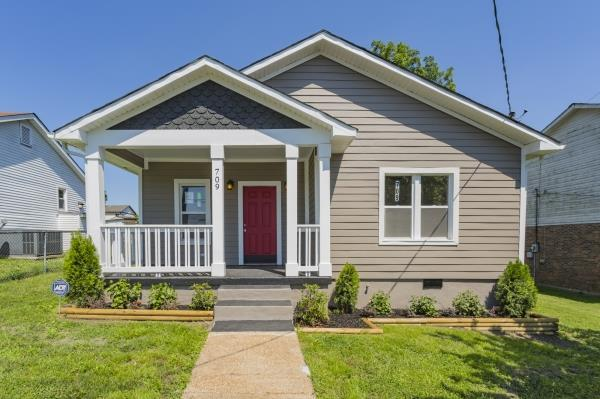 709 S 11Th St, Nashville, TN 37206 (MLS #1943938) :: Ashley Claire Real Estate - Benchmark Realty