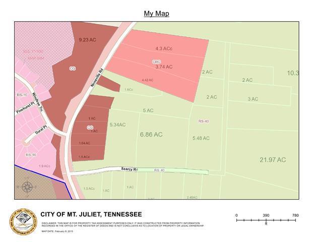 0 Nonaville Rd, Mount Juliet, TN 37122 (MLS #1970665) :: EXIT Realty Bob Lamb & Associates