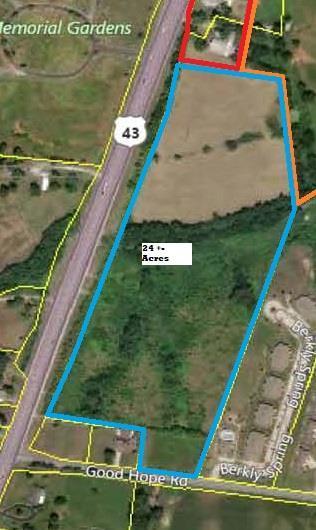 43 Highway, Lawrenceburg, TN 38464 (MLS #1991926) :: Valerie Hunter-Kelly & the Air Assault Team