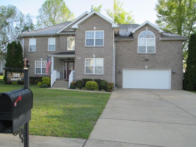 2478 Hattington Drive, Clarksville, TN 37042 (MLS #2031988) :: The Huffaker Group of Keller Williams