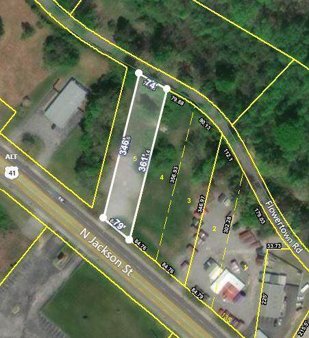 2228 N Jackson St, Tullahoma, TN 37388 (MLS #RTC2054903) :: The Miles Team | Compass Tennesee, LLC