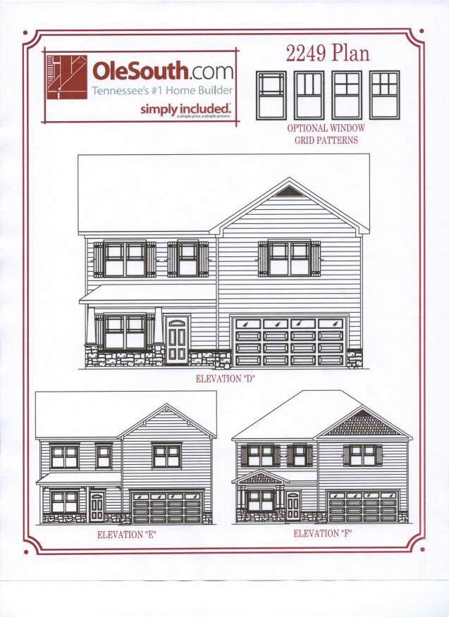 3438 Pear Blossom Way / Lt.37, Murfreesboro, TN 37127 (MLS #RTC2060257) :: Village Real Estate