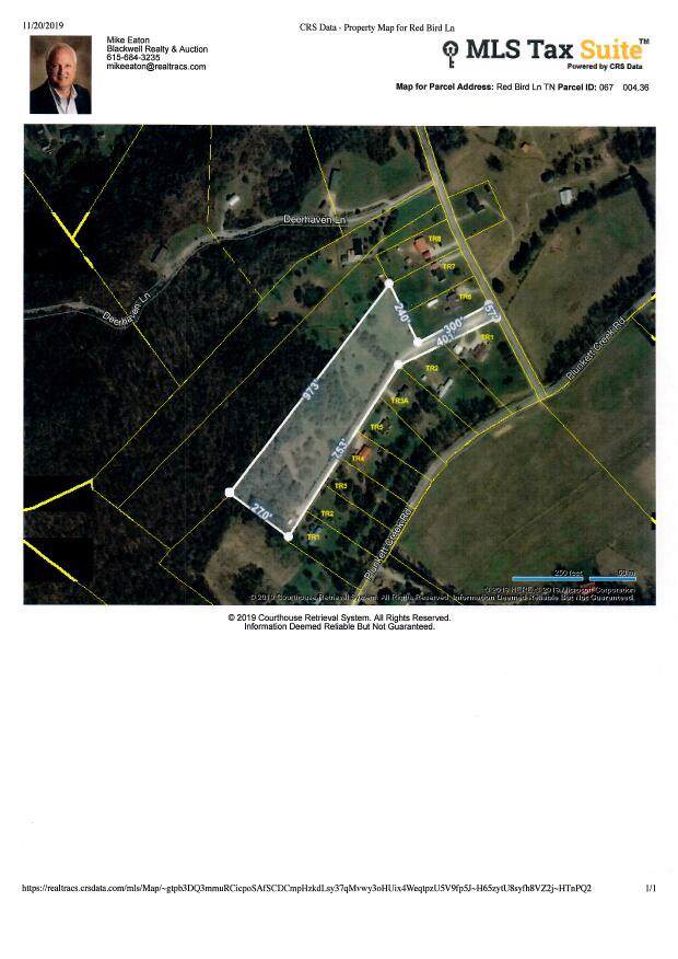 0 Red Bird Ln, Gordonsville, TN 38563 (MLS #RTC2102010) :: Village Real Estate