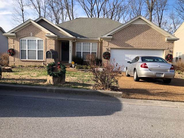 6745 Ascot Dr, Antioch, TN 37013 (MLS #RTC2110275) :: The Milam Group at Fridrich & Clark Realty