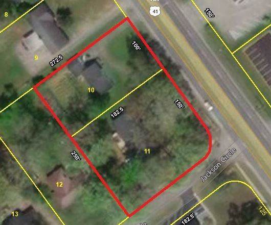 1501 N Jackson St, Tullahoma, TN 37388 (MLS #RTC2113930) :: DeSelms Real Estate
