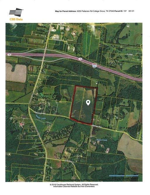 0 Patterson Road, College Grove, TN 37046 (MLS #RTC2126533) :: Team Wilson Real Estate Partners