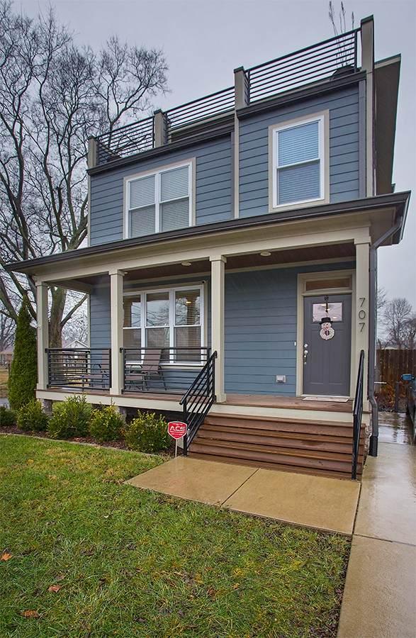 707 44th Ave N, Nashville, TN 37209 (MLS #RTC2136817) :: Team George Weeks Real Estate