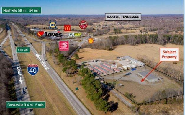 1140 1st Ave S, Baxter, TN 38544 (MLS #RTC2226320) :: Kimberly Harris Homes