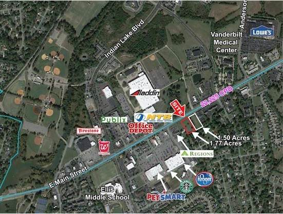 0 E Main St, Hendersonville, TN 37075 (MLS #RTC2240571) :: Platinum Realty Partners, LLC