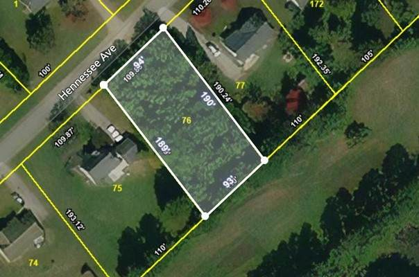 0 Hennessee Ave., Mc Minnville, TN 37110 (MLS #RTC2250369) :: The Helton Real Estate Group