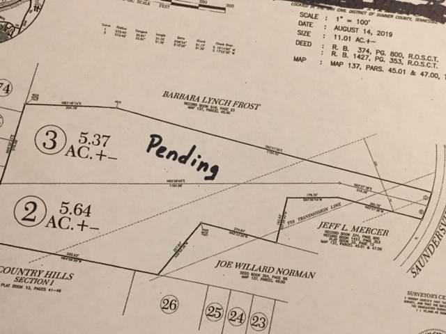 0 Saundersville Rd Tract #2, Hendersonville, TN 37075 (MLS #RTC2261270) :: Kenny Stephens Team