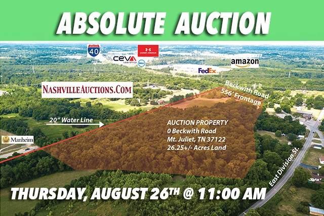 0 Beckwith Rd, Mount Juliet, TN 37122 (MLS #RTC2273842) :: EXIT Realty Bob Lamb & Associates