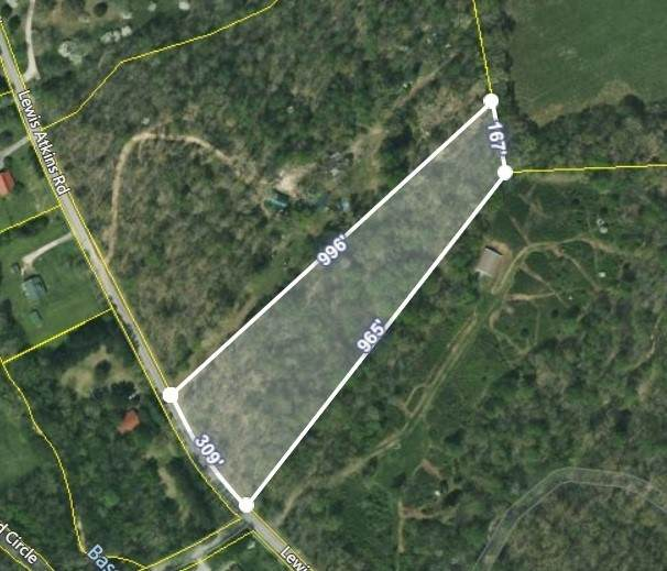 0 Lewis Atkins Rd, Woodlawn, TN 37191 (MLS #RTC2297219) :: The Home Network by Ashley Griffith