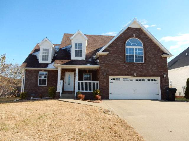 1209 Channelview Dr, Clarksville, TN 37040 (MLS #RTC2099690) :: REMAX Elite