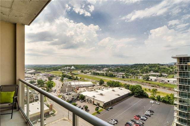 600 12th Ave S #1912, Nashville, TN 37203 (MLS #RTC2229886) :: RE/MAX Homes And Estates