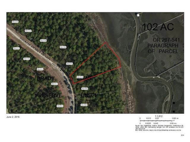 96210 Brady Point Road, Fernandina Beach, FL 32034 (MLS #76489) :: Berkshire Hathaway HomeServices Chaplin Williams Realty
