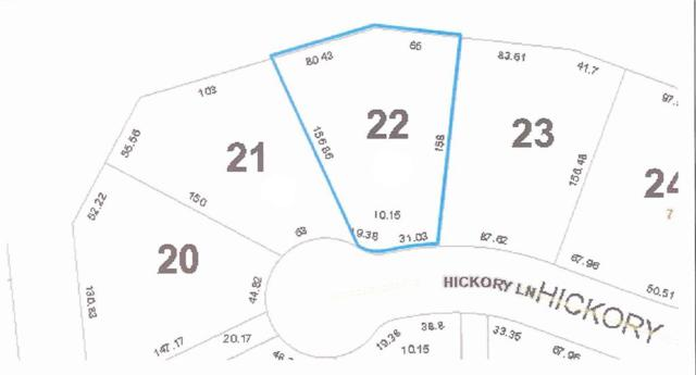 LOT 22 Hickory Lane, Amelia Island, FL 32034 (MLS #80407) :: Berkshire Hathaway HomeServices Chaplin Williams Realty