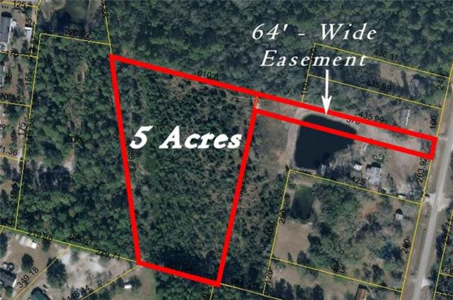 5 AC Blackrock Road, Yulee, FL 32097 (MLS #81791) :: Berkshire Hathaway HomeServices Chaplin Williams Realty