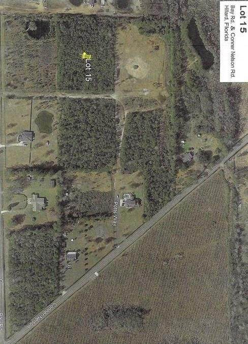 PT Lot 15 Bay Road & Conner Nelson Road, Hilliard, FL 32046 (MLS #95390) :: Berkshire Hathaway HomeServices Chaplin Williams Realty