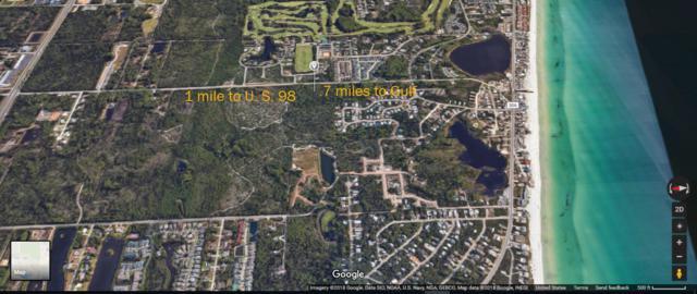 Lot 21 Tiburon Circle, Santa Rosa Beach, FL 32459 (MLS #804298) :: ResortQuest Real Estate