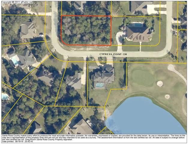 Lot 1 Cypress Point Circle, Navarre, FL 32566 (MLS #829738) :: ResortQuest Real Estate