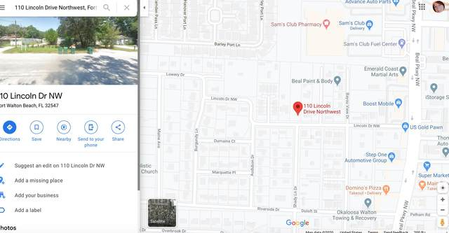 110 NW Lincoln Dr Drive, Fort Walton Beach, FL 32547 (MLS #848343) :: Vacasa Real Estate