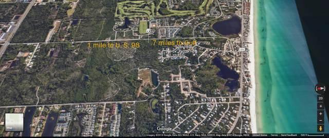 Lot 20 Tiburon Circle, Santa Rosa Beach, FL 32459 (MLS #855020) :: Levin Rinke Realty