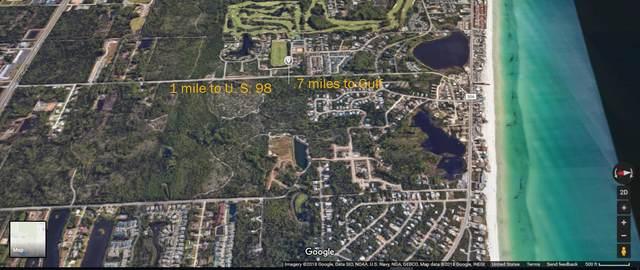 Lot 24 Tiburon Circle, Santa Rosa Beach, FL 32459 (MLS #855025) :: Levin Rinke Realty