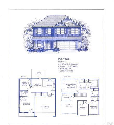 2076 Bergren Road, Gulf Breeze, FL 32563 (MLS #813505) :: ResortQuest Real Estate