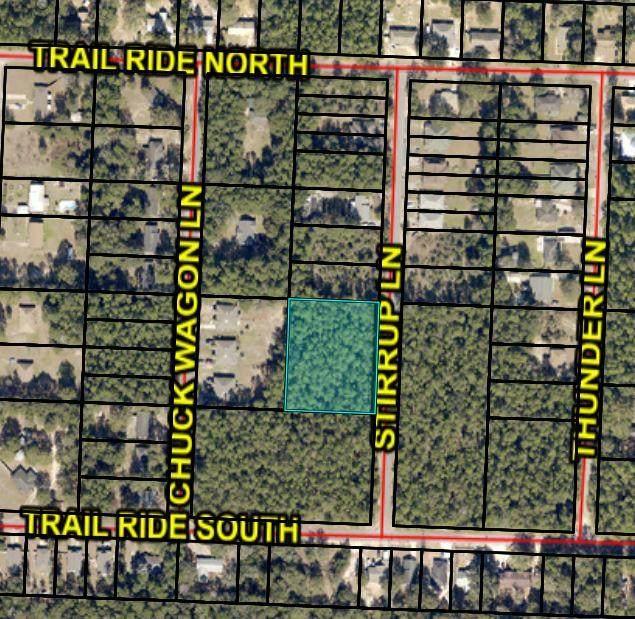 000 Stirrup Lane, Milton, FL 32570 (MLS #841186) :: Tonya Zimmern Team powered by Keller Williams Realty Gulf Coast