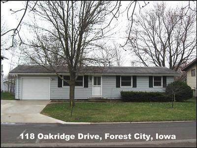 118 Oakridge Drive, Forest City, IA 50436 (MLS #5567396) :: Jane Fischer & Associates