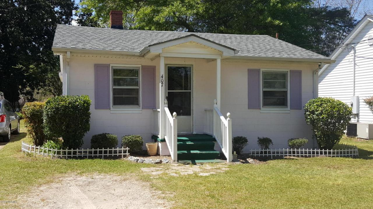 407 SE 2nd Street, Snow Hill, NC 28580 (MLS #100008374) :: Century 21 Sweyer & Associates