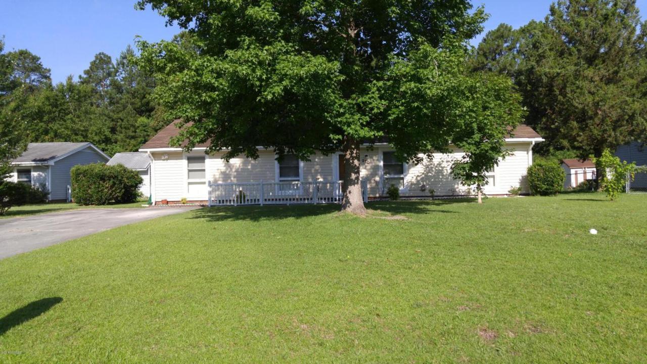 210 Poplar Road, Havelock, NC 28532 (MLS #100018546) :: Century 21 Sweyer & Associates