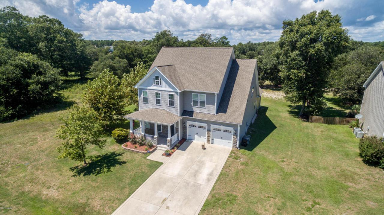 109 Percy Padgett Court, Holly Ridge, NC 28445 (MLS #100026512) :: Century 21 Sweyer & Associates