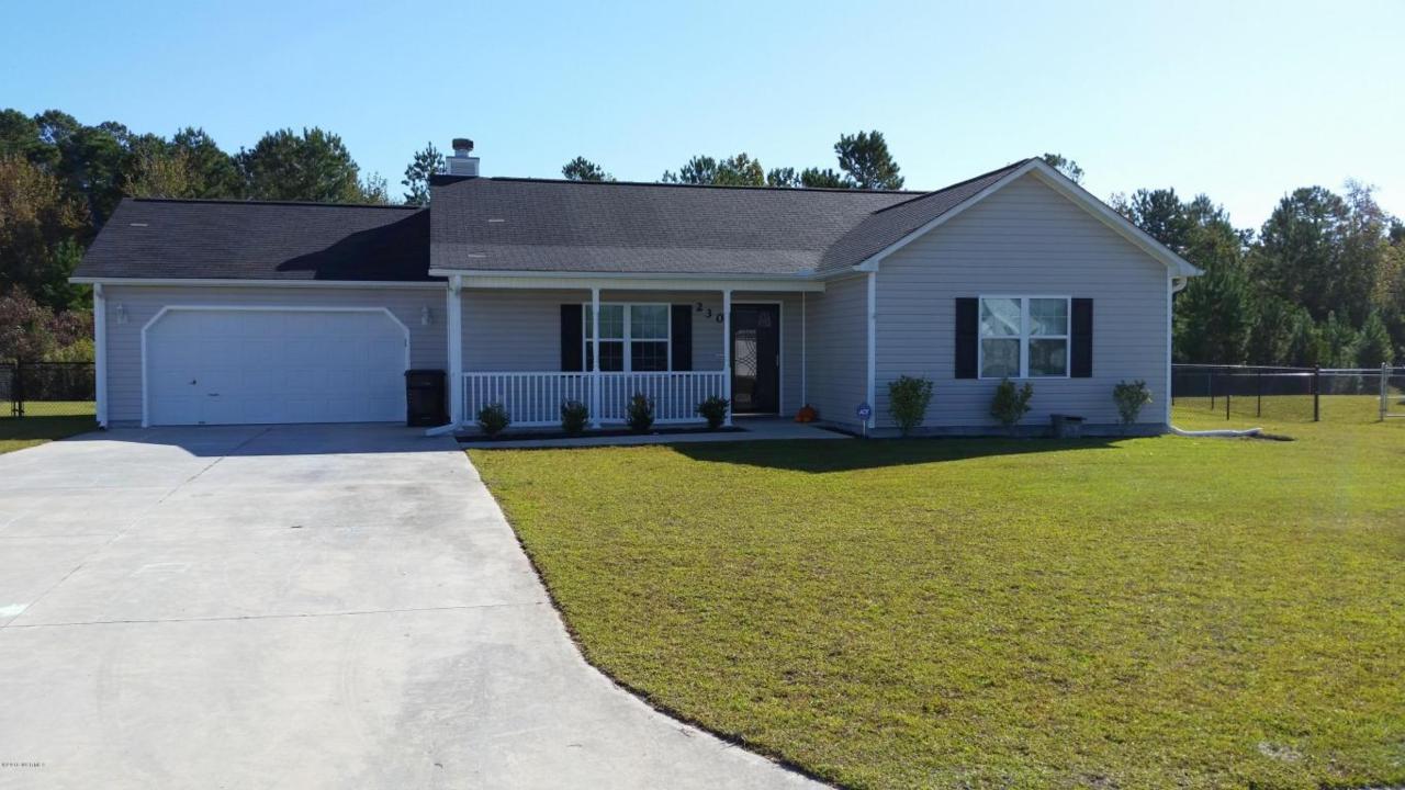 230 Loren Road, Hubert, NC 28539 (MLS #100033874) :: Century 21 Sweyer & Associates