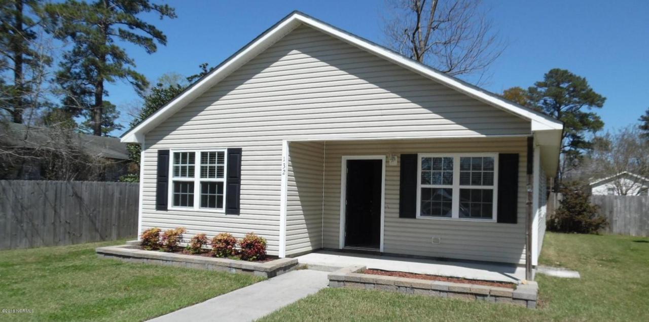 132 Sanders Street, Jacksonville, NC 28540 (MLS #100029070) :: Century 21 Sweyer & Associates