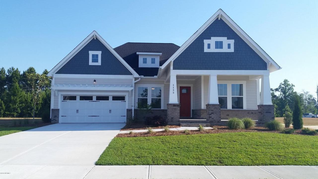 1155 Sandy Grove Place, Leland, NC 28451 (MLS #100009866) :: Century 21 Sweyer & Associates
